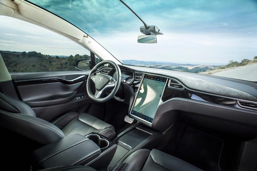 2017 Tesla Model X P100D 4dr SUV Interior