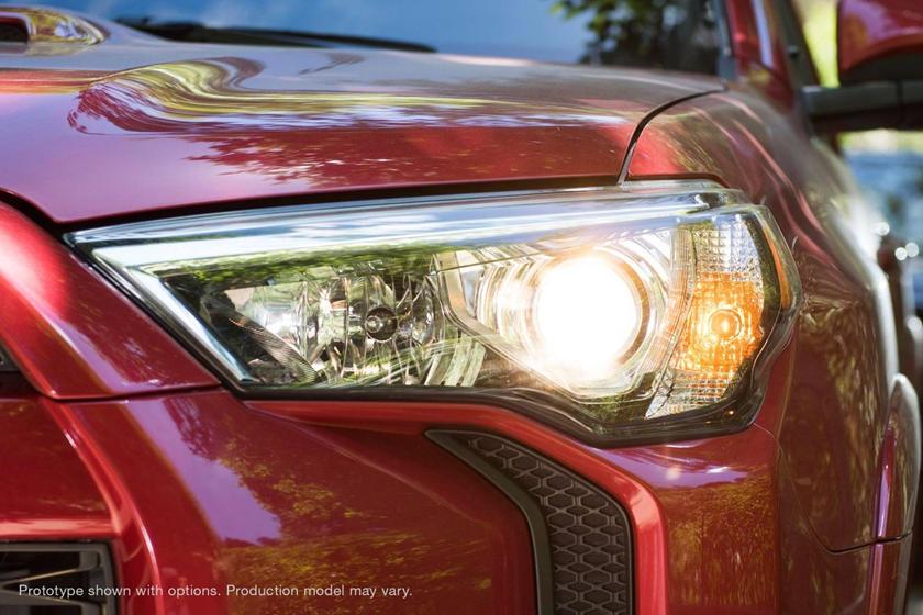 Toyota 4Runner TRD OFF-ROAD Premium 4dr SUV Headlamp Detail