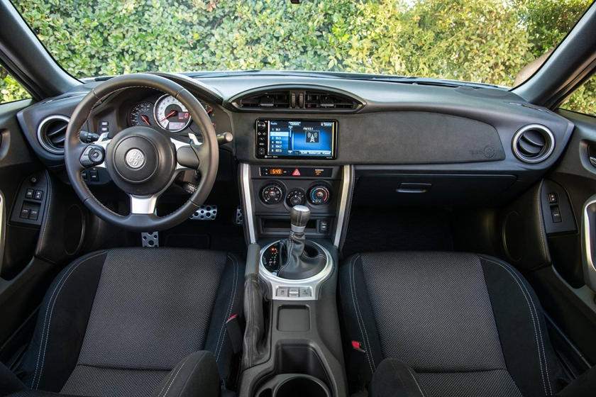 2017 Toyota 86 Coupe Dashboard