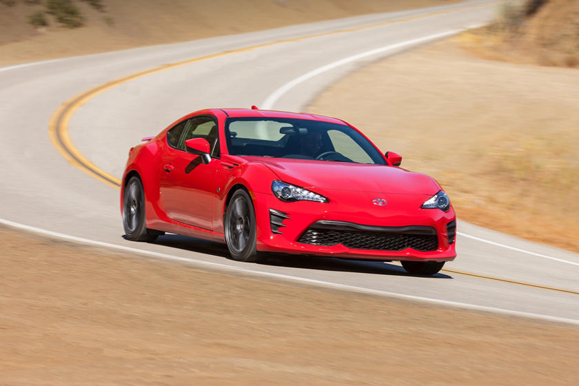 2017 Toyota 86 Coupe Exterior
