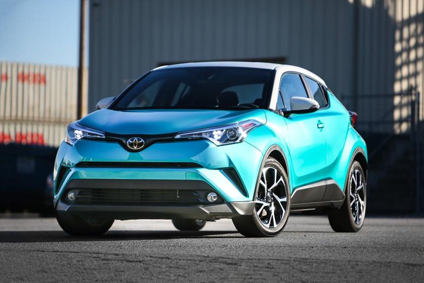2018 Toyota C-HR XLE Premium 4dr SUV Exterior Shown
