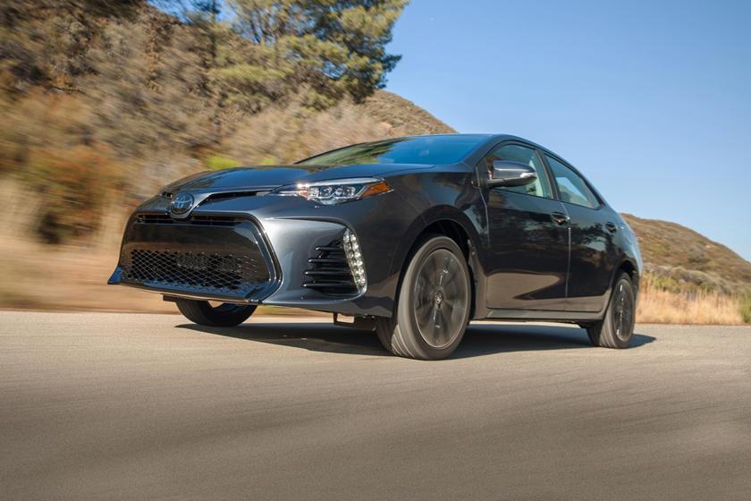 2018 Toyota Corolla XSE Sedan Exterior