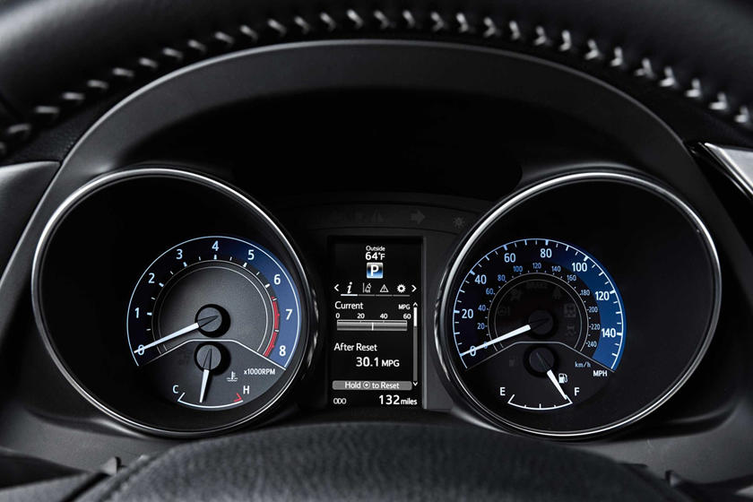 Toyota Corolla iM 4dr Hatchback Gauge Cluster