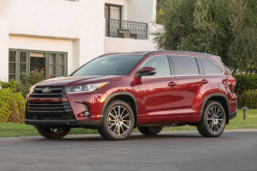 2018 Toyota Highlander Review Trims Specs And Price Carbuzz