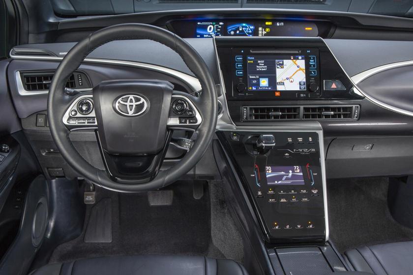 2017 Toyota Mirai SedanSteering Wheel Detail