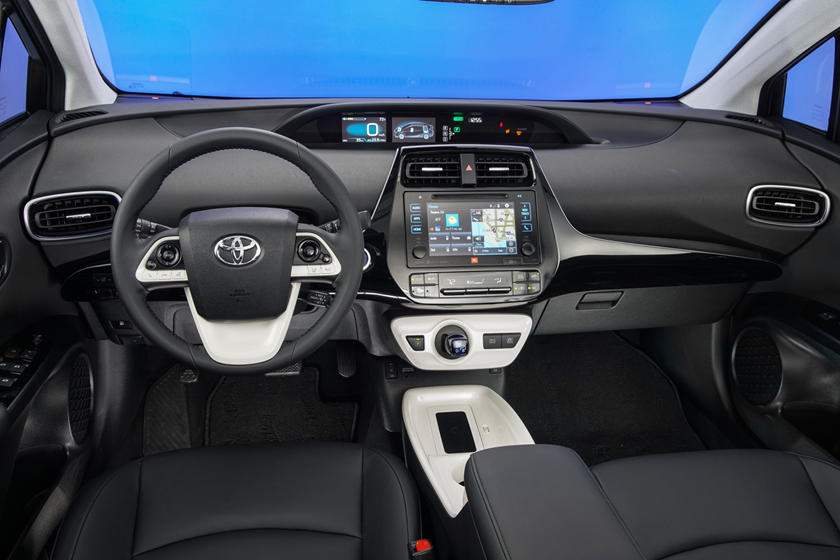 2017 Toyota Prius Four Touring 4dr Hatchback Dashboard Shown