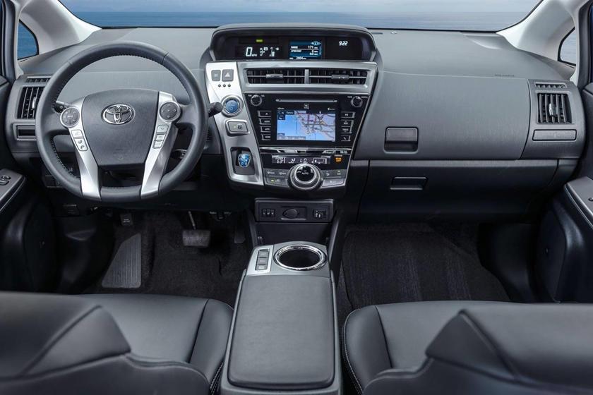 2017 Toyota Prius v Five Wagon Dashboard