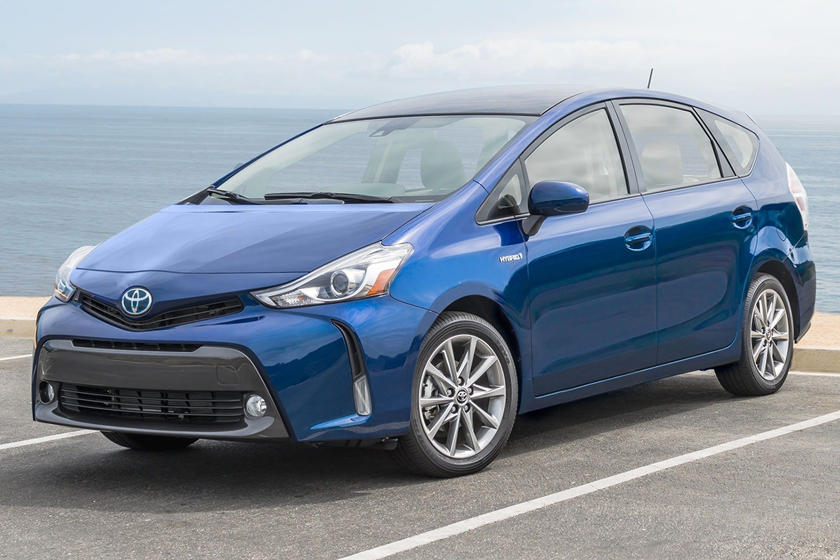 2017 Toyota Prius v Five Wagon Exterior Shown