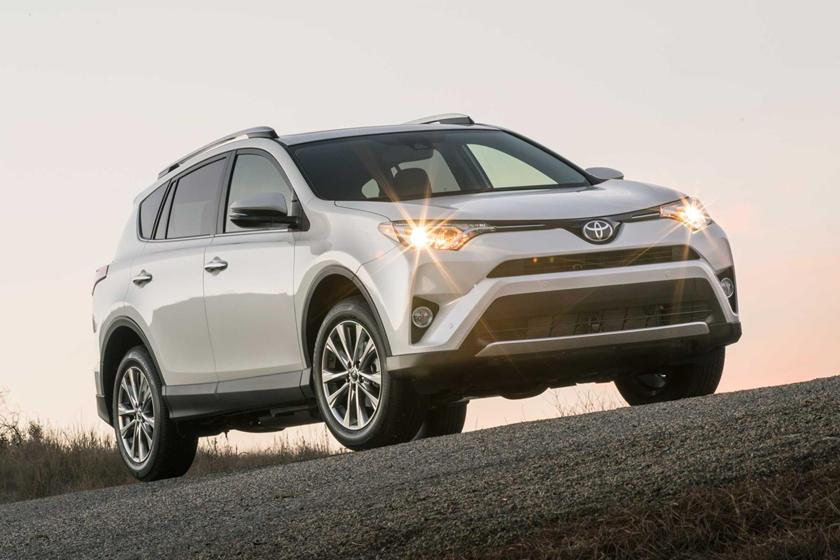 2017 Toyota RAV4 Limited 4dr SUV Exterior Shown