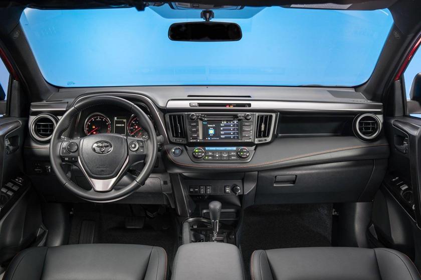 2017 Toyota RAV4 SE 4dr SUV Dashboard Shown