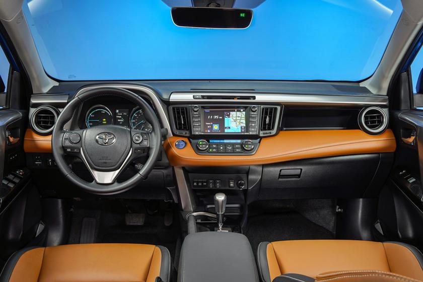 2017 Toyota RAV4 Hybrid Limited 4dr SUV Dashboard