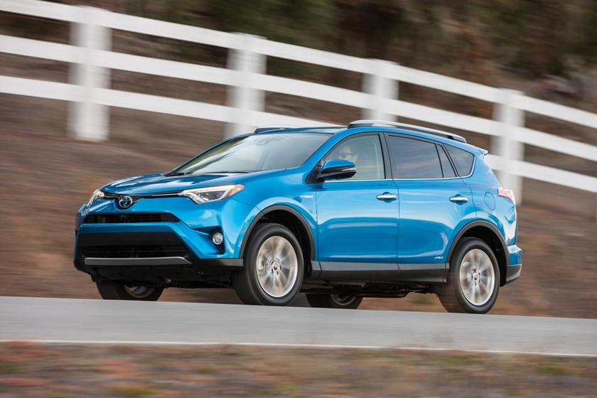 2017 Toyota RAV4 Hybrid Limited 4dr SUV Exterior Shown