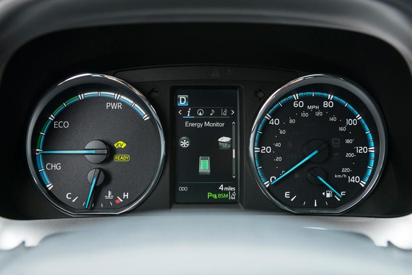 2017 Toyota RAV4 Hybrid Limited 4dr SUV Gauge Cluster