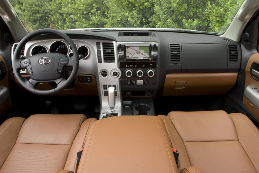 Toyota Sequoia Platinum 4dr SUV Dashboard