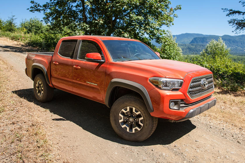 2017 Toyota Tacoma TRD Off Road Crew Cab Pickup Exterior