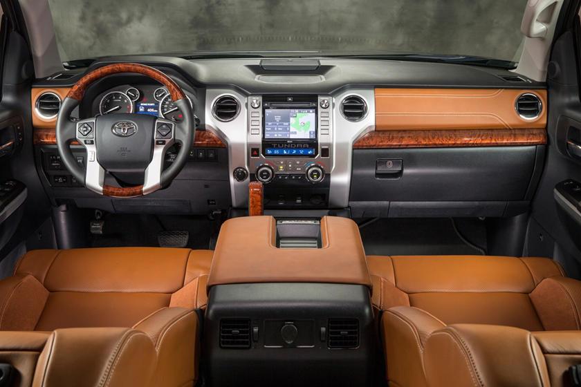 Toyota Tundra 1794 Crew Cab Pickup Dashboard