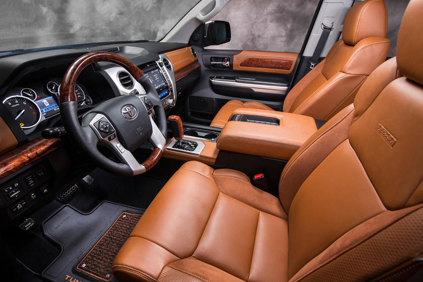 Toyota Tundra 1794 Crew Cab Pickup Interior