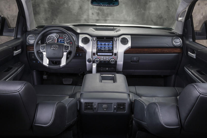 2017 Toyota Tundra Limited Crew Cab Pickup Dashboard
