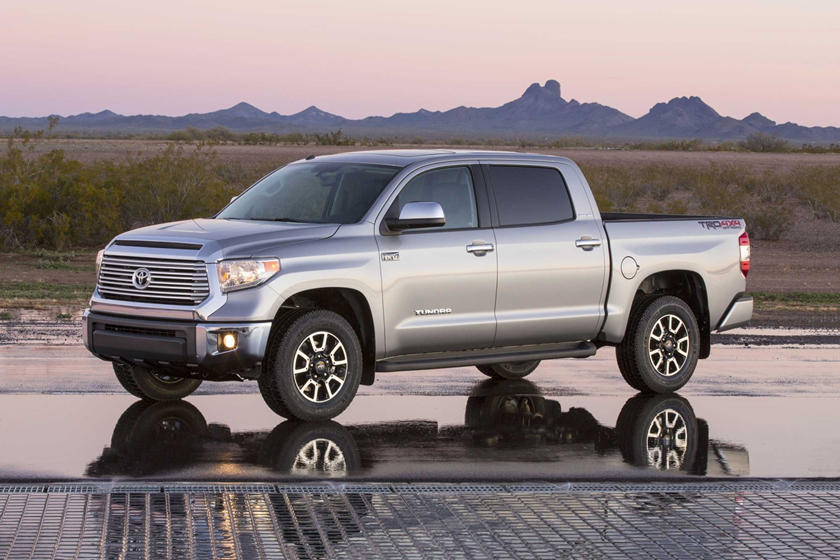 2017 Toyota Tundra Limited Crew Cab Pickup Exterior