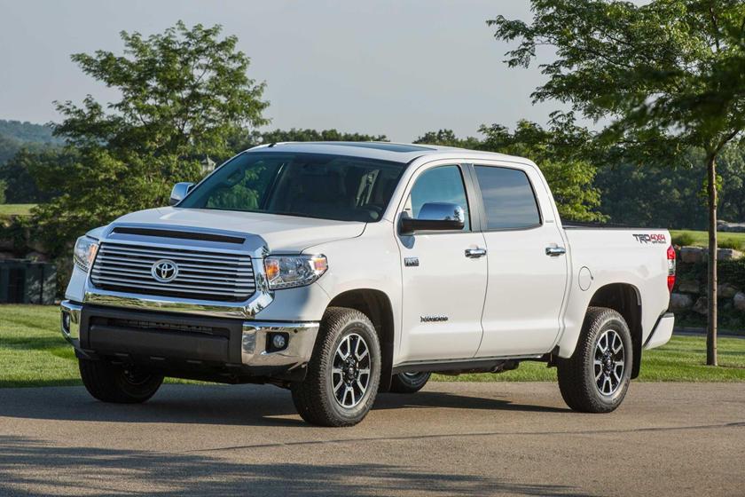 2017 Toyota Tundra Limited Crew Cab Pickup Exterior