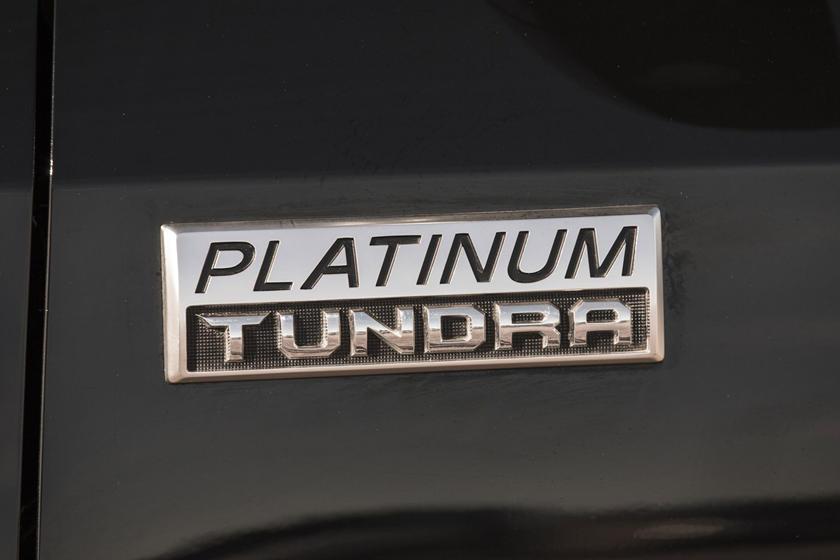 2017 Toyota Tundra Platinum Crew Cab Pickup Front Badge