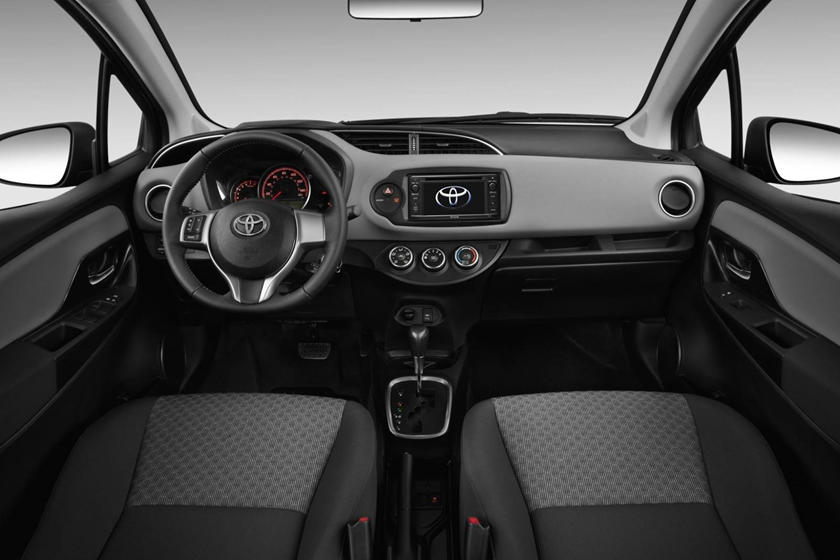 2018 Toyota Yaris LE 4dr Hatchback Dashboard Shown