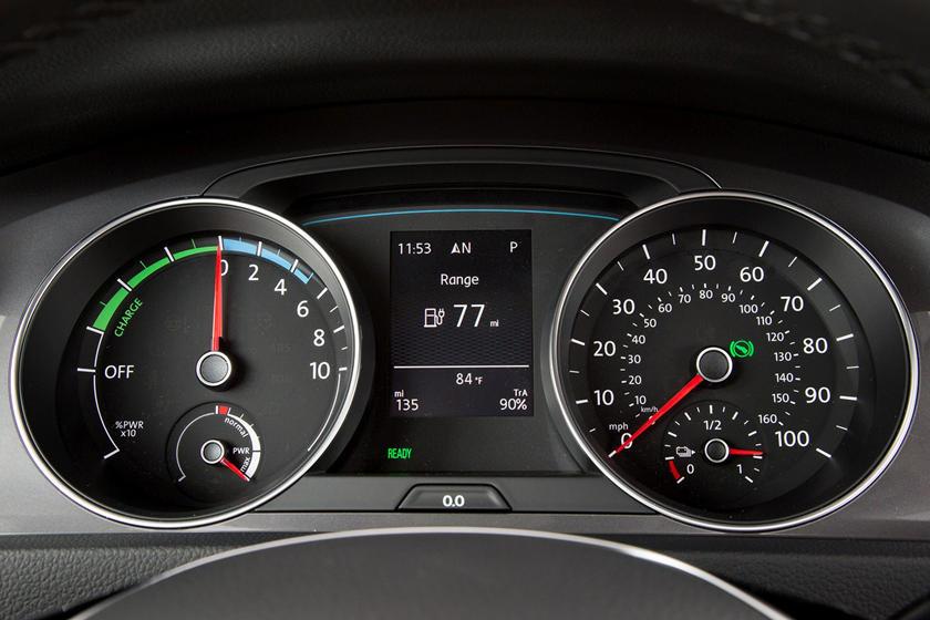 2016 Volkswagen e-Golf SEL Premium 4dr Hatchback Gauge Cluster