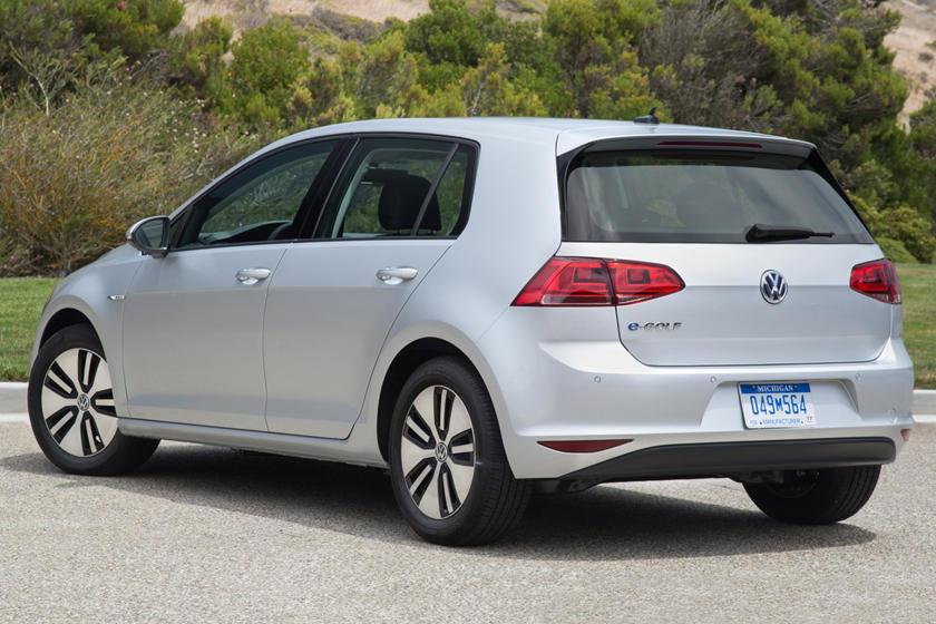 2016 Volkswagen e-Golf SEL Premium 4dr Hatchback Exterior