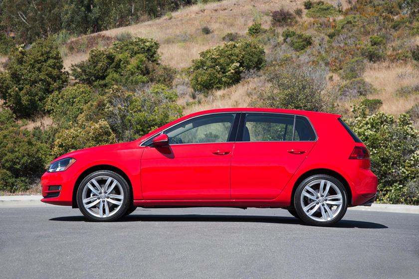 2017 Volkswagen Golf TSI SEL 4dr Hatchback Exterior