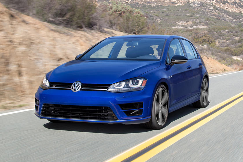 2017 Volkswagen Golf R w/Dynamic Chassis Control and Navigation 4dr Hatchback Exterior Shown