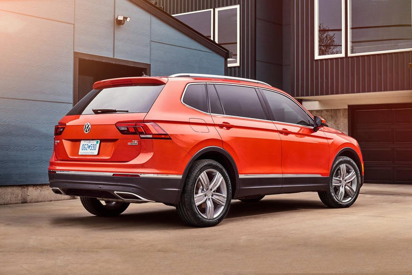 2016-2019 Volkswagen Tiguan 2018 Volkswagen Tiguan SEL Premium 4Motion 4dr SUV Exterior
