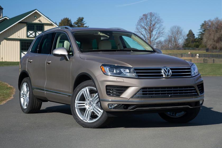 2017 Volkswagen Touareg V6 Executive 4dr SUV Exterior Shown