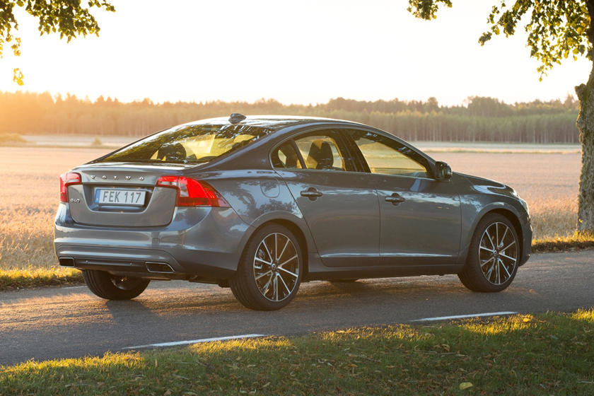 2018 Volvo S60 T5 Dynamic Sedan Exterior. Sport Package Shown.