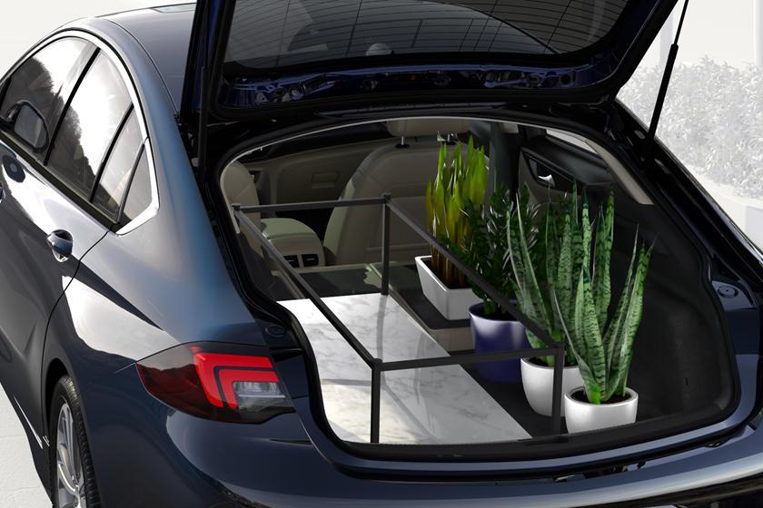 2018 Buick  Regal Sportback Sedan Luggage Space with Seat Folded