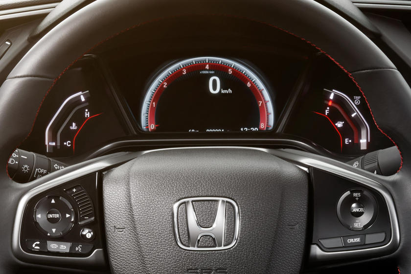 2016-2018 Honda  Civic Sedan Gauge Cluster