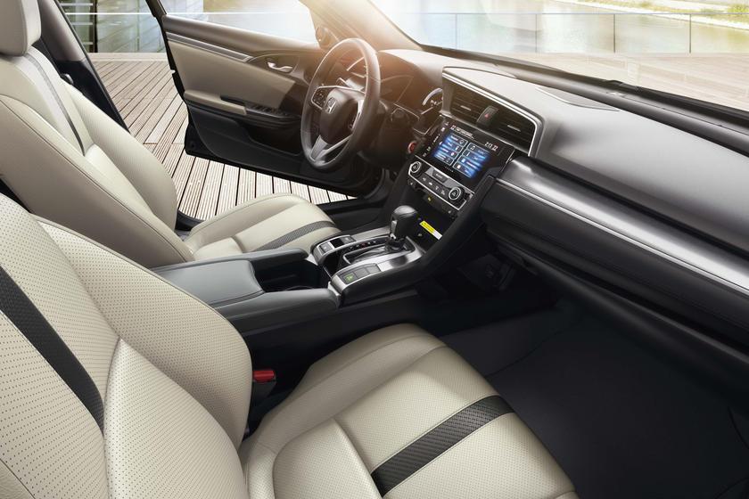 2016-2018 Honda  Civic Sedan Front Seats