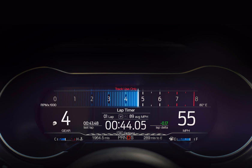 2018-2019 Ford Mustang Coupe Gauge Cluster