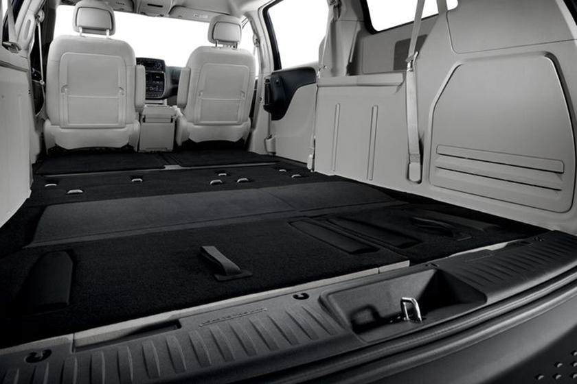 2014-2019 Dodge  Grand Caravan Minivan Maximum Rear Cargo Space