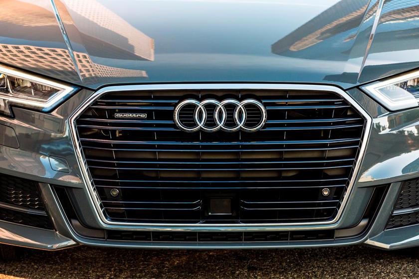 2018 Audi A3 Sedan Front Grill Closeup