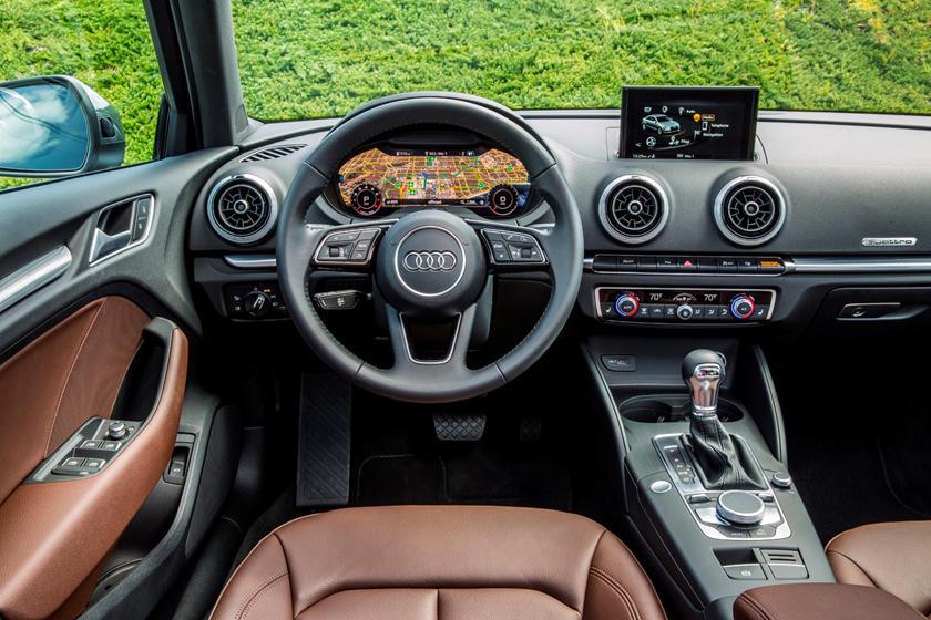 2018 Audi A3 Sedan Driver Area