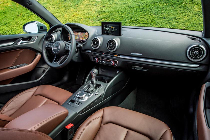 2018 Audi A3 Sedan Dashboard