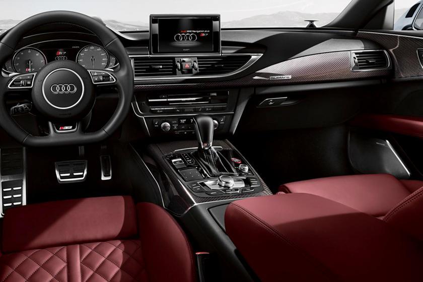 2016-2018 Audi  S7 Sportback Dashboard  Layout