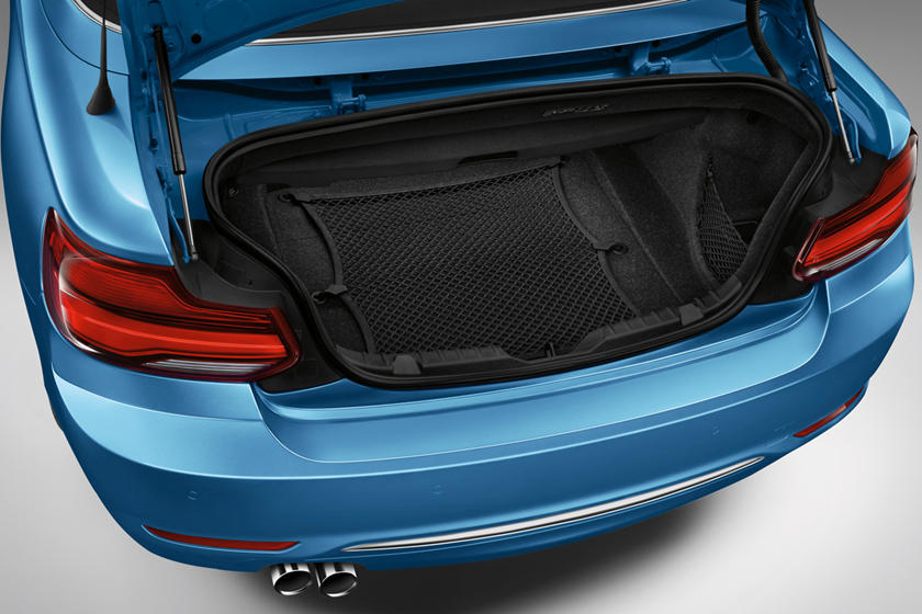 2018-2019 BMW 2 Series Convertible Luggage Space
