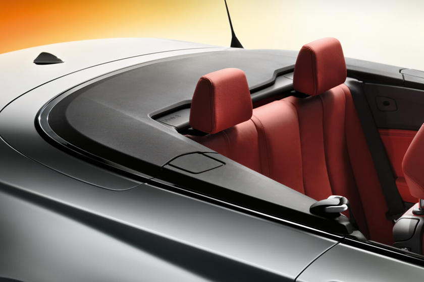 2018-2019 BMW 2 Series Convertible Rear Seating