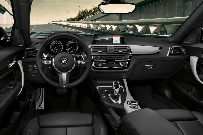 2018-2019 BMW 2 Series Coupe Dashboard  Layout