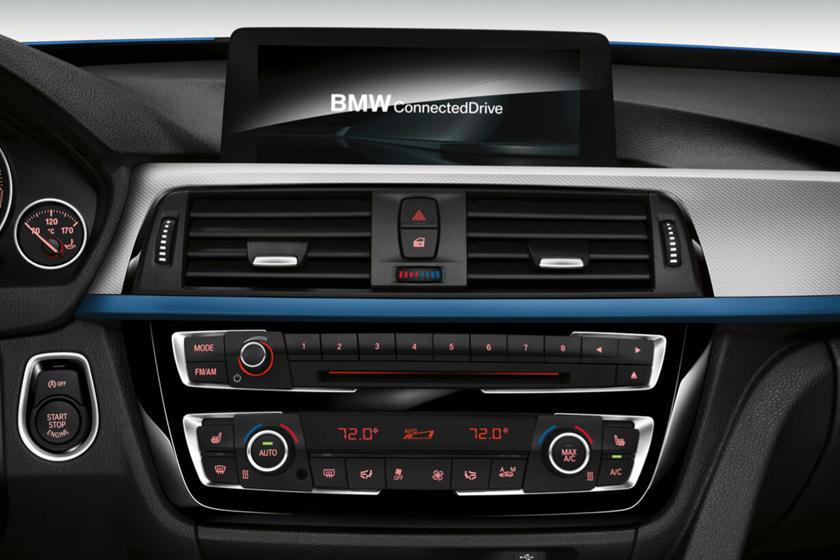 2017-2019 BMW 3 Series Gran Turismo Infotainment System