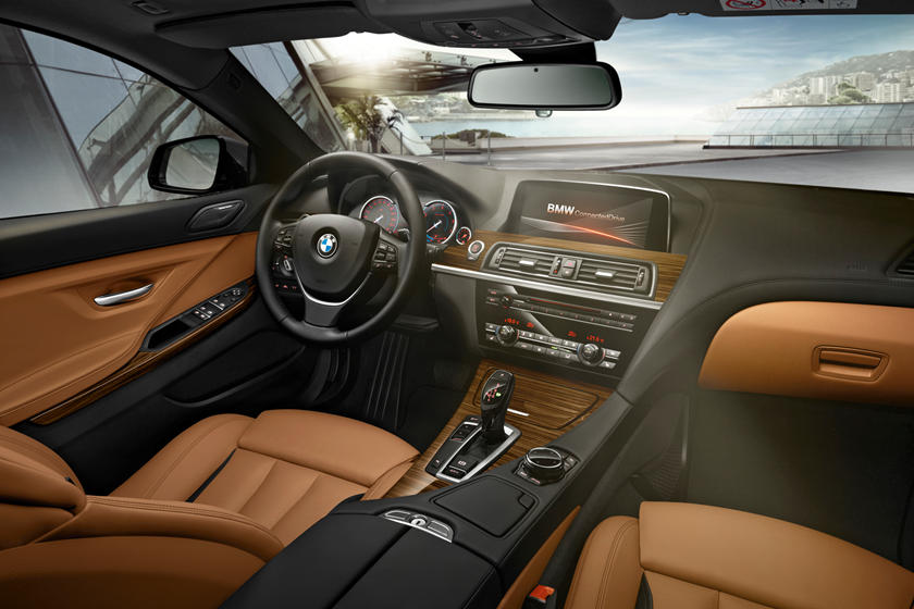 2014-2018 BMW 6 Series Gran Coupe Driver Area