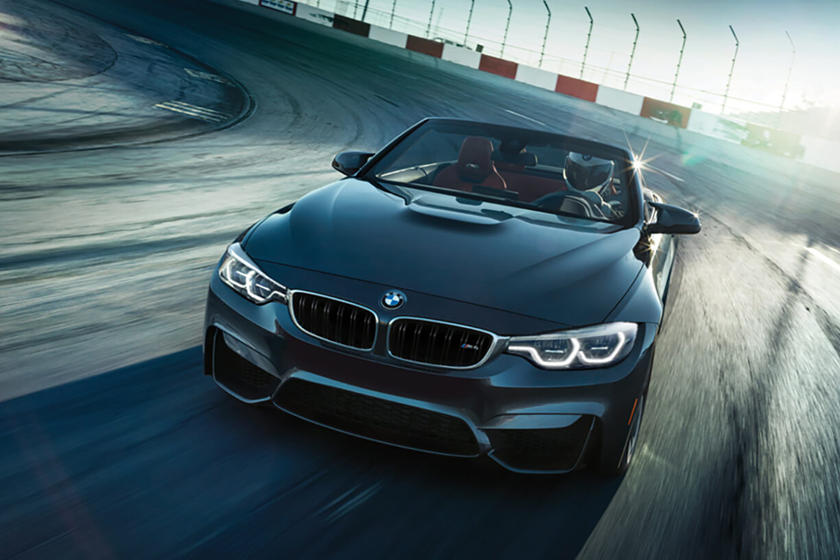 2018 BMW M4 Convertible In Motion
