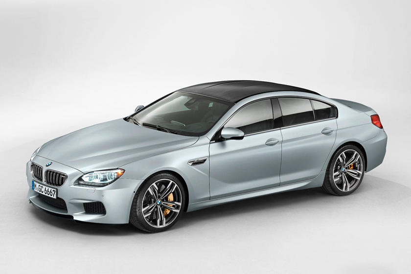 2014-2018 BMW M6 Gran Coupe Front Three-Quarter Left Side View