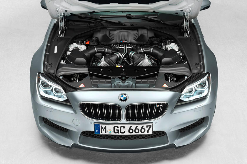 2014-2018 BMW M6 Gran Coupe Engine Bay